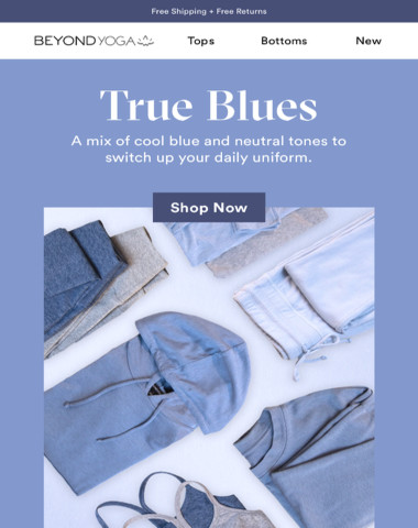 COLOR CRUSH: NEW BLUES