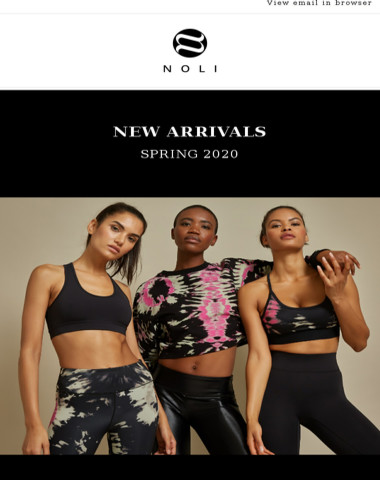 Just In: Spring Arrivals for 2020