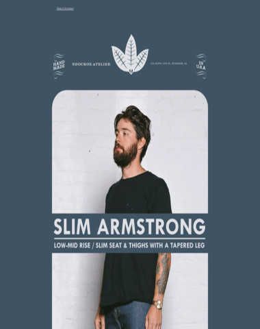 The Slim Armstrong | Stretch Selvedge