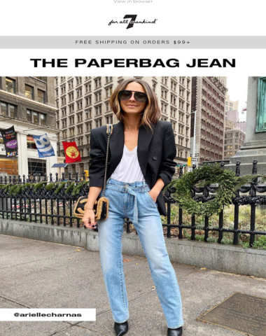 Switch Things Up: The Paperbag Jean