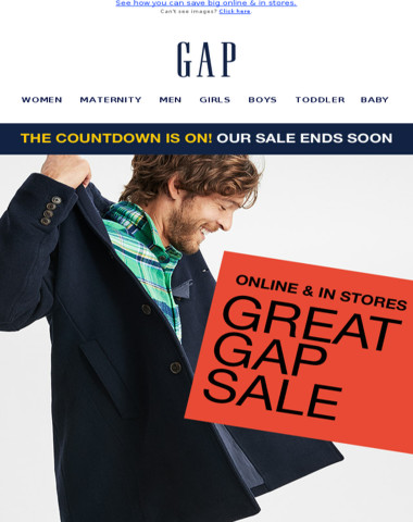 Yes! Up to 75% off at our GREATEST sale of the year