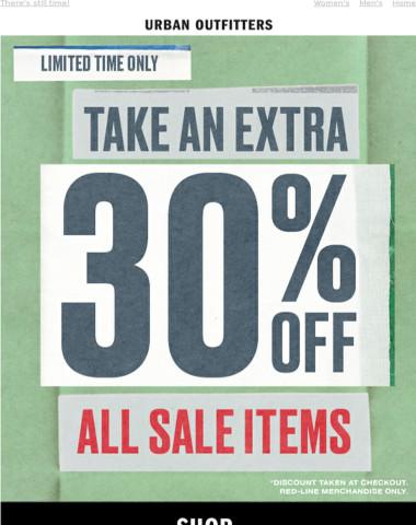 ⚠️ DON'T MISS IT: 30% OFF sale