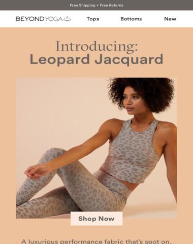 NEW LEOPARD JACQUARD