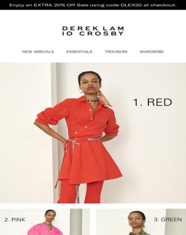 True Colors   Derek Lam 10 Crosby
