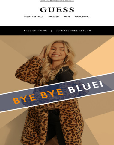 Blue Monday? Get over it with online Sale!