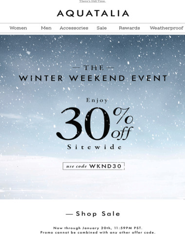 LAST DAY   30% Off Sitewide