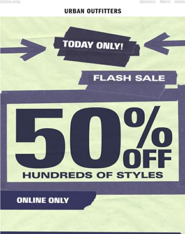 ⚡️ FLASH SALE ⚡️ 50% OFF 100s of styles