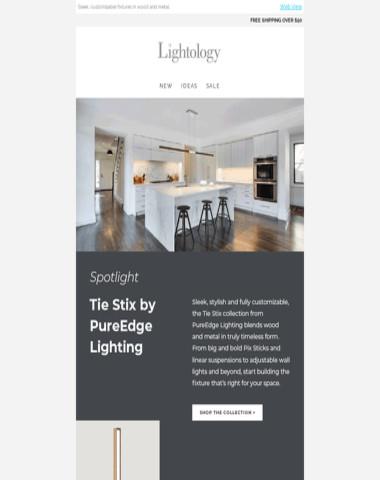 Spotlight: Tie Stix by PureEdge Lighting
