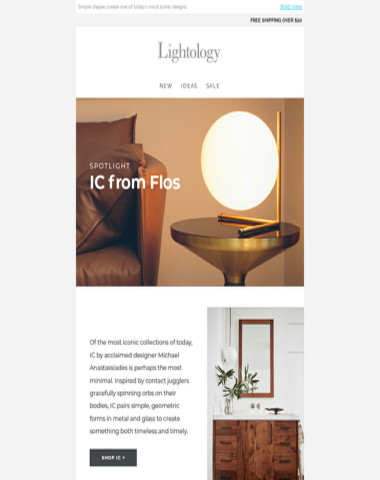 Spotlight: IC Collection from Flos