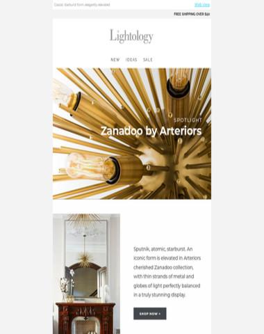 Spotlight: Zanadoo by Arteriors