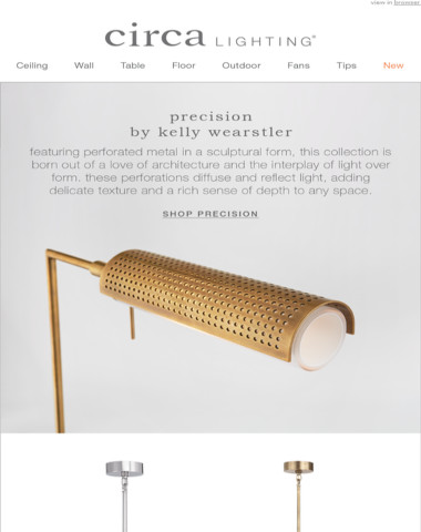 the precision series by kelly wearstler