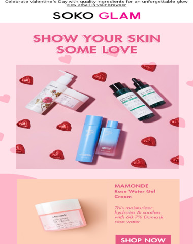 Skin care = self care