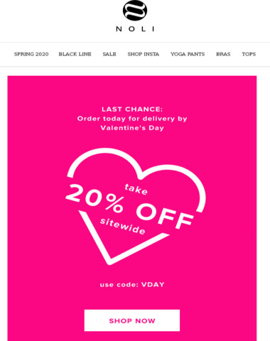 Right in time for V-Day | 20% OFF Storewide