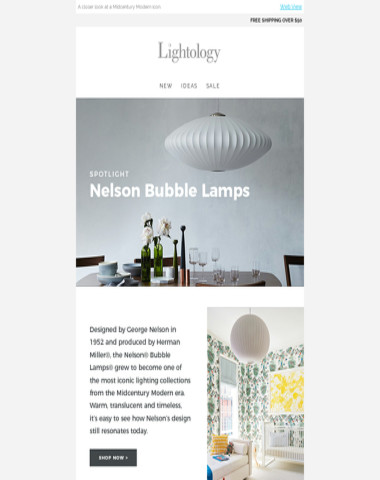 Spotlight: Nelson Bubble Lamps