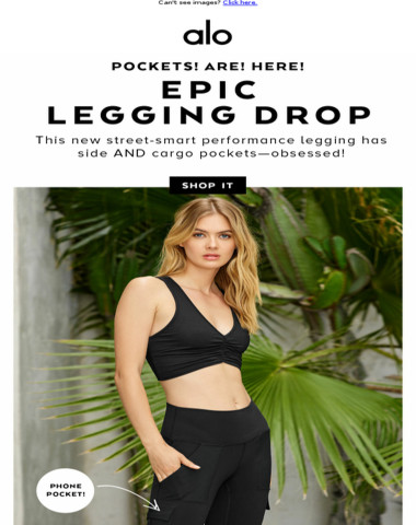 OMG. This Cargo Legging... Pockets! ?