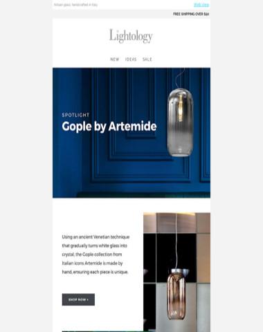 Spotlight: Gople by Artemide