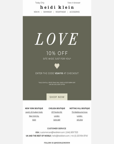 With Love | 10% Off