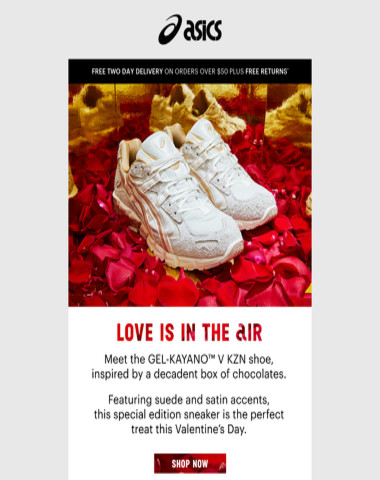 Love is in the air - meet Special Edition GEL-KAYANO™ V KZN