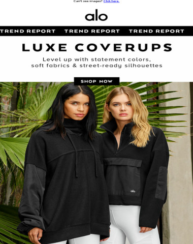 New In: Cool Coverups—Soft, Cropped & More ?