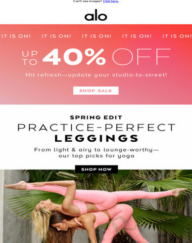 Sale. Is. Happening. Up To 40% Off All Your Faves! ?