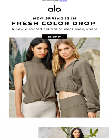 NEW Color Drops NOW: Fresh Spring Is In ?