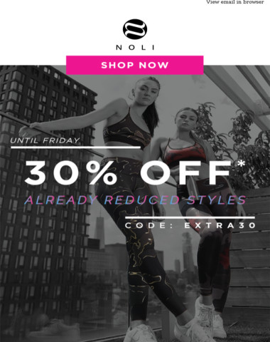 FINAL DAY | EXTRA 30% OFF SALE