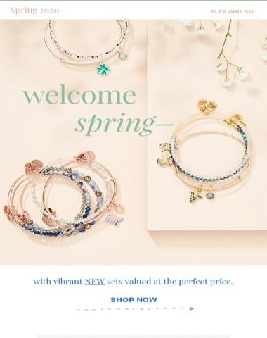 New Spring Sets just Bloomed ?