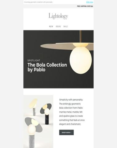 Spotlight: Bola by Pablo