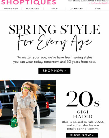 Spring Trends for Every Age