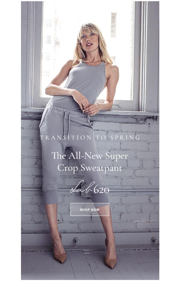 New Supercrop Sweatpant - LAB620