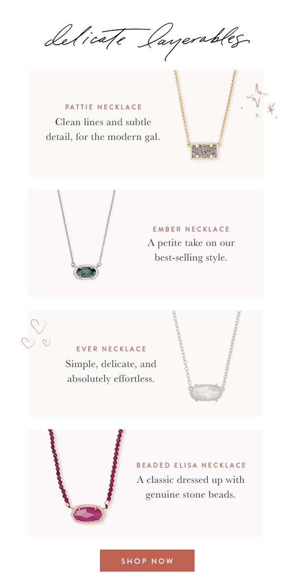 Shop Pendant Necklaces
