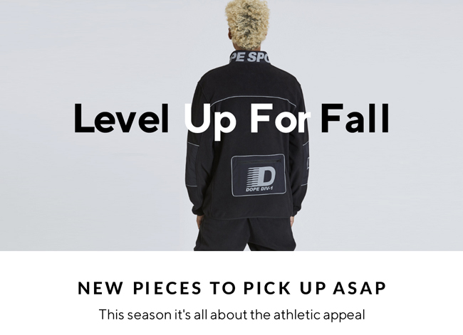 Level Up For Fall