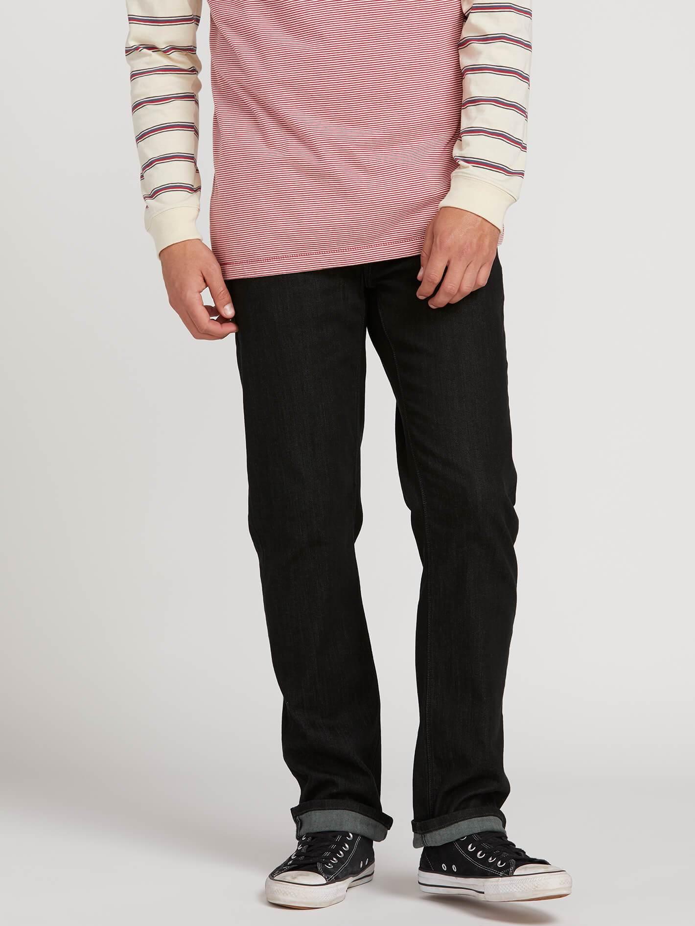 Solver Modern Fit Jeans - Black Rinser - BLACK RINSER / 28 / 32