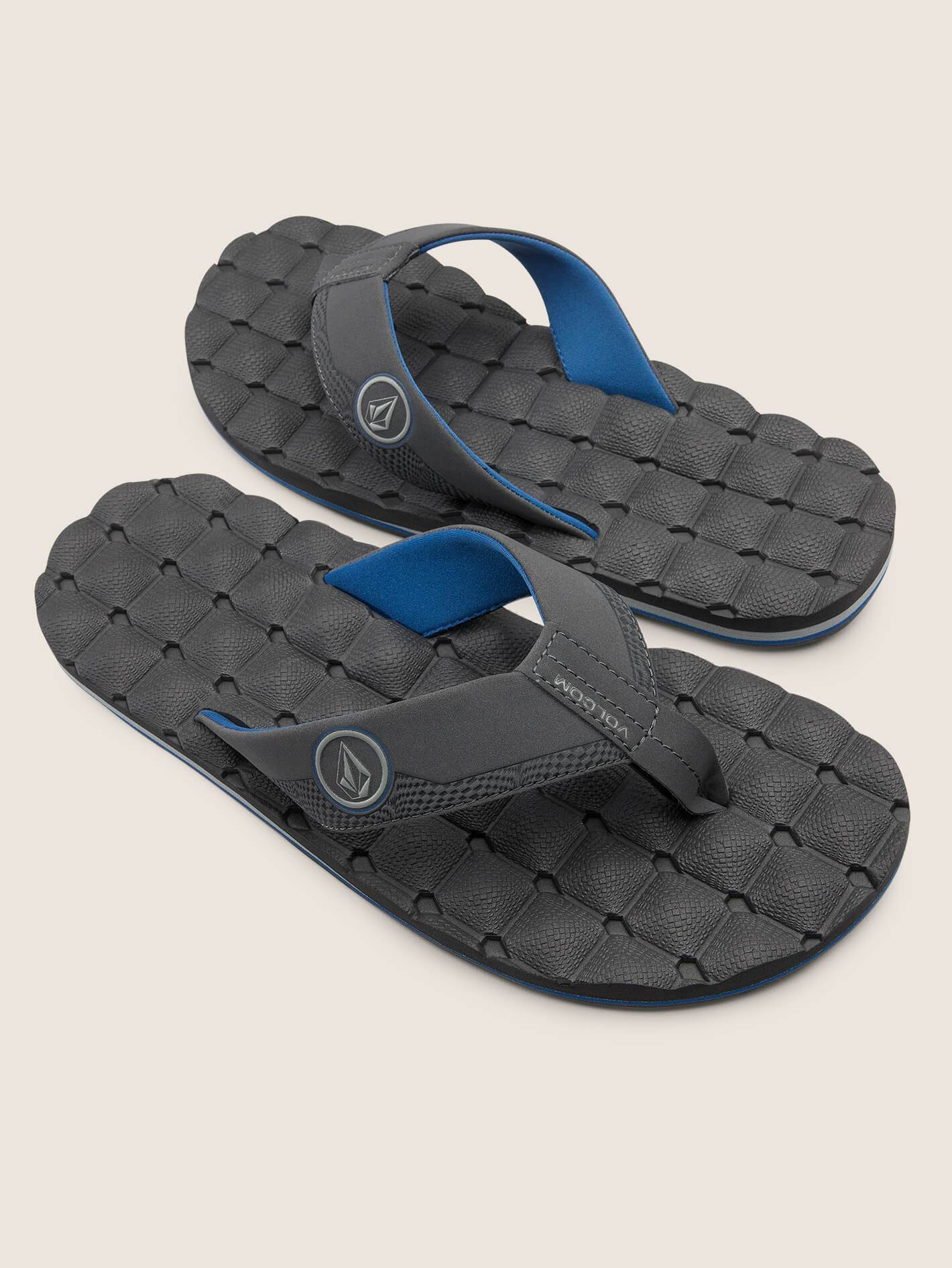 Recliner Sandals - Blue Combo - BLUE COMBO / 13