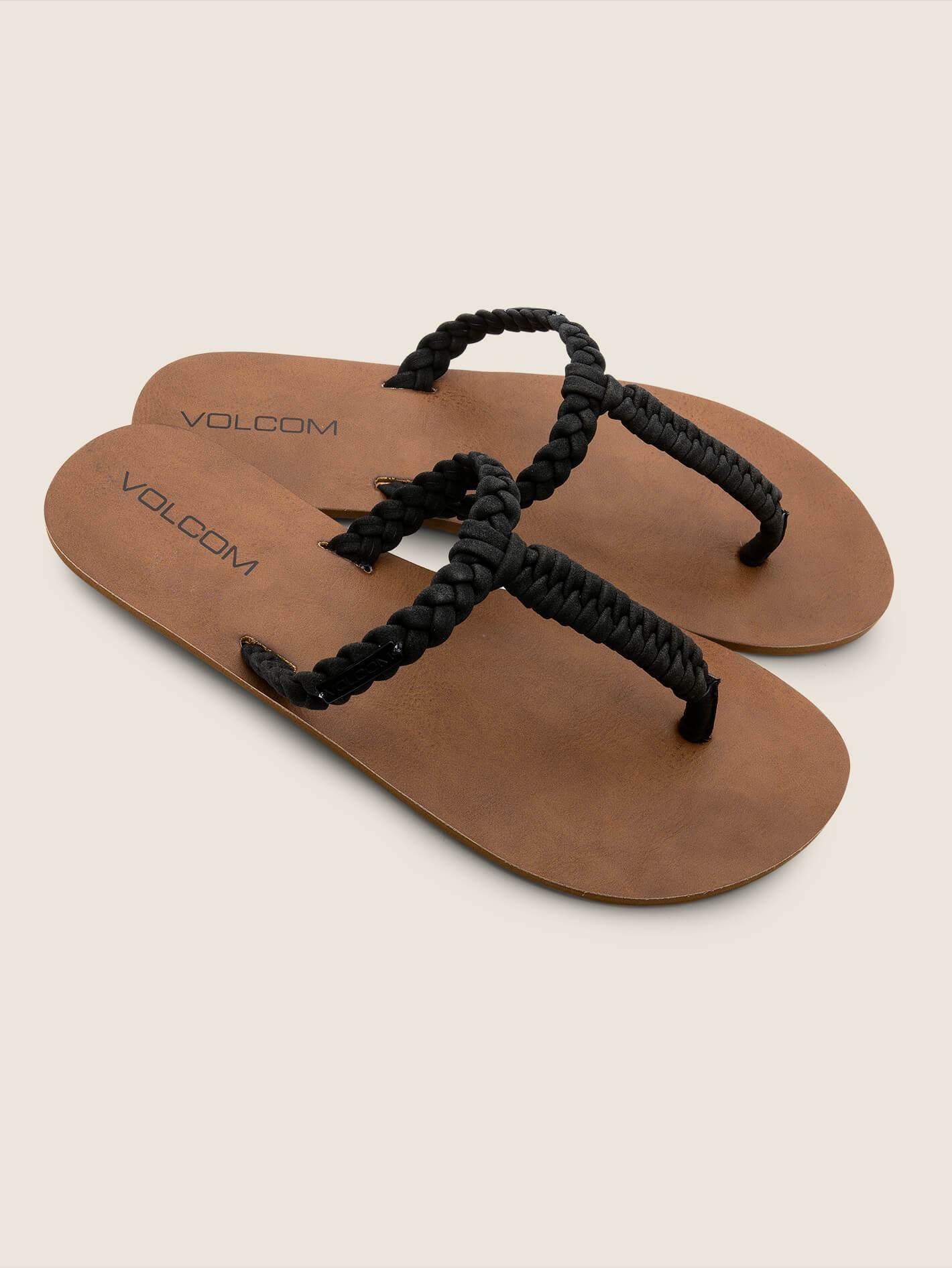 Fishtail Sandals - BLACK / 8