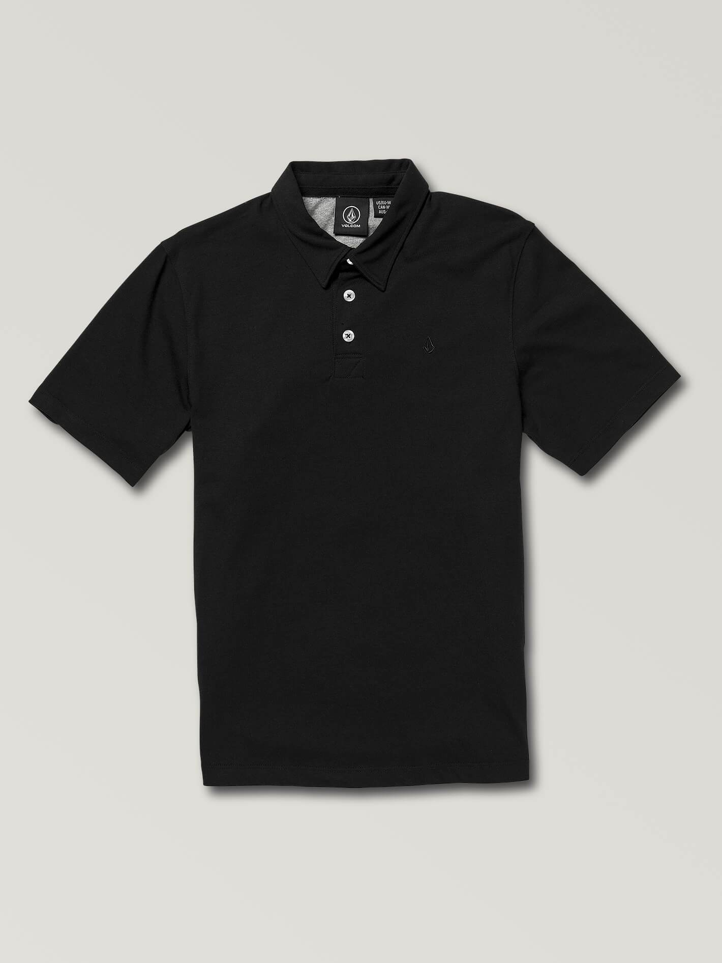 Big Boys Wowzer Polo - Black - BLACK / S
