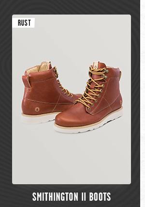 Mens Smithington II Boots - Rust