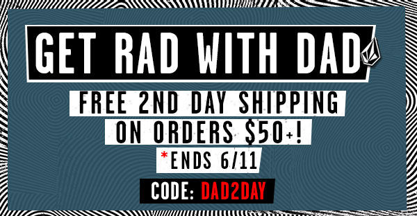 Free 2nd day shipping orders $50+