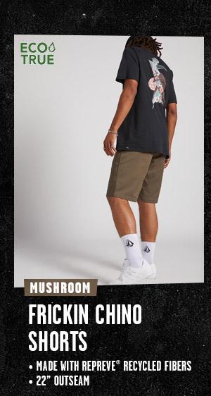 Mens Frickin Chino Shorts - Mushroom