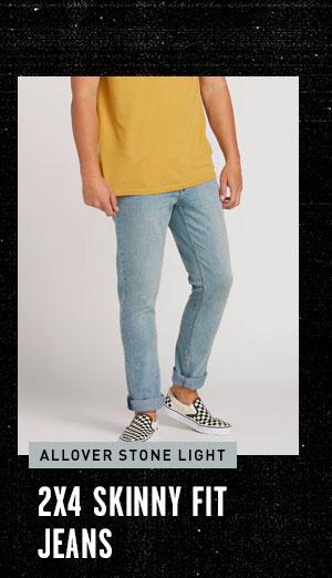 2x4 Skinny Fit Jeans