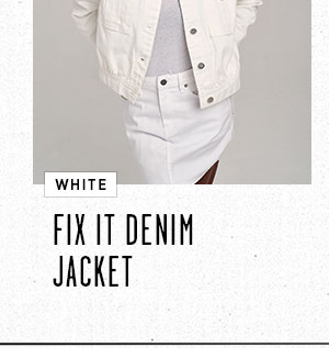 Fix It Denim Jacket