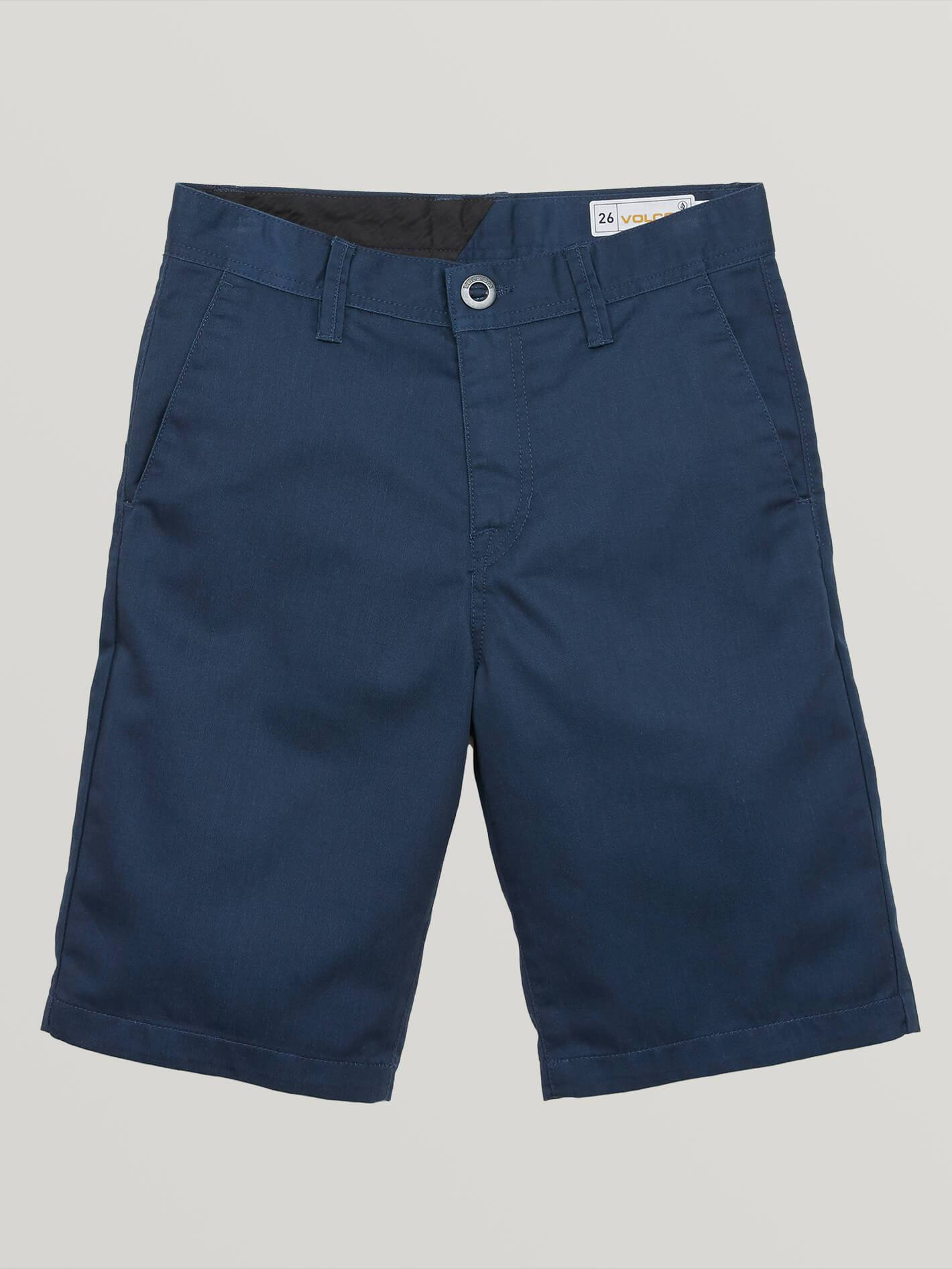 Big Boys Frickin Chino Shorts - Service Blue - SERVICE BLUE / 23