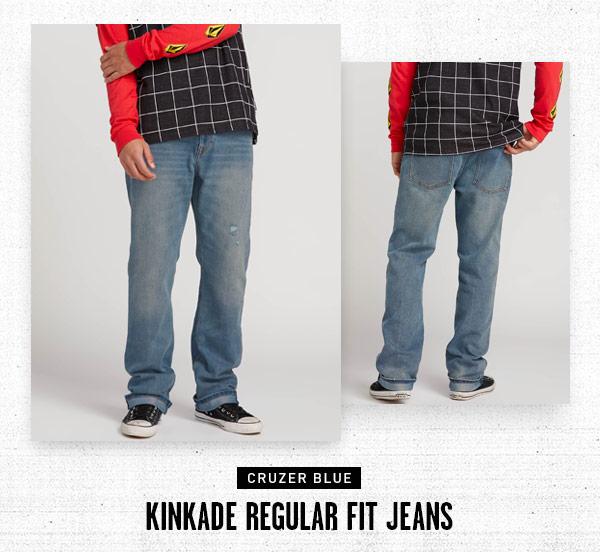 Kinkade Regular Fit Jeans