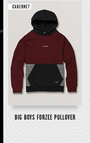 Big Boys Forzee Pullover - Cabernet