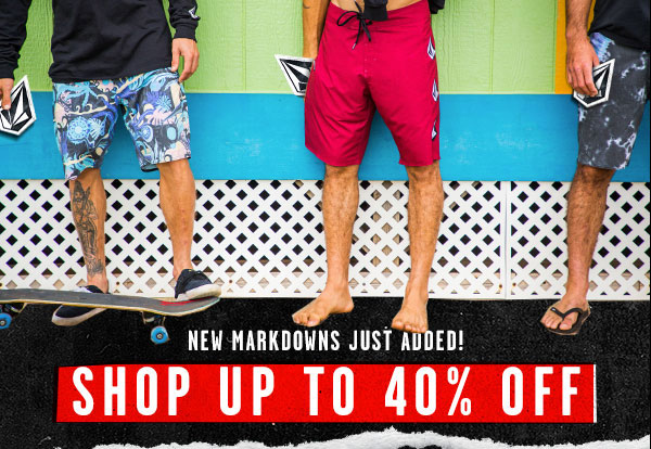 New Markdowns - shop up to 40% off
