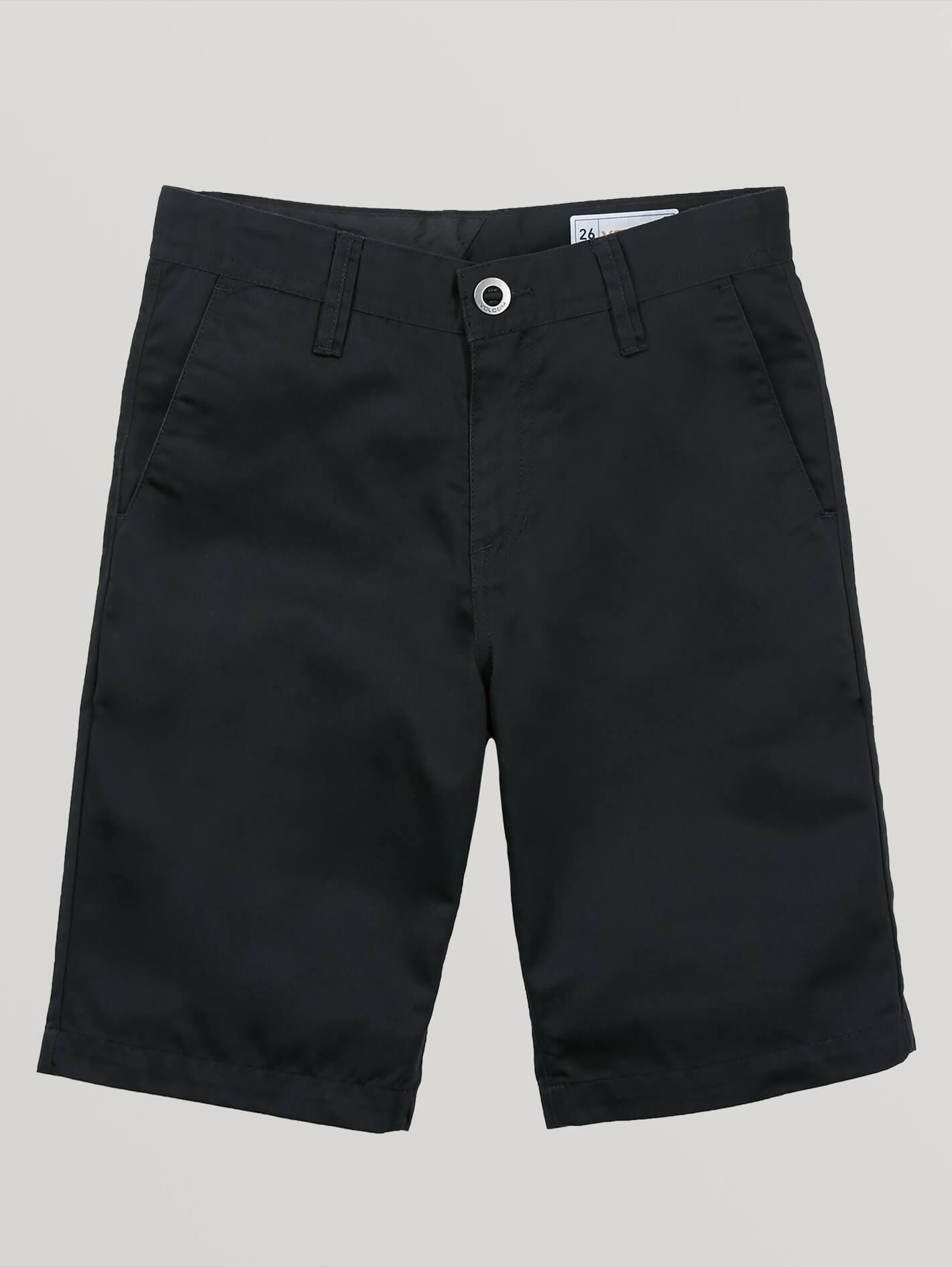 Big Boys Frickin Chino Shorts - BLACK / 27