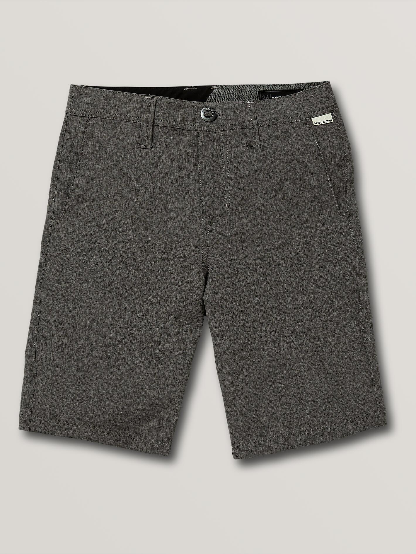 Big Boys Frickin Surf N' Turf Static Hybrid Shorts - CHARCOAL HEATHER / 28