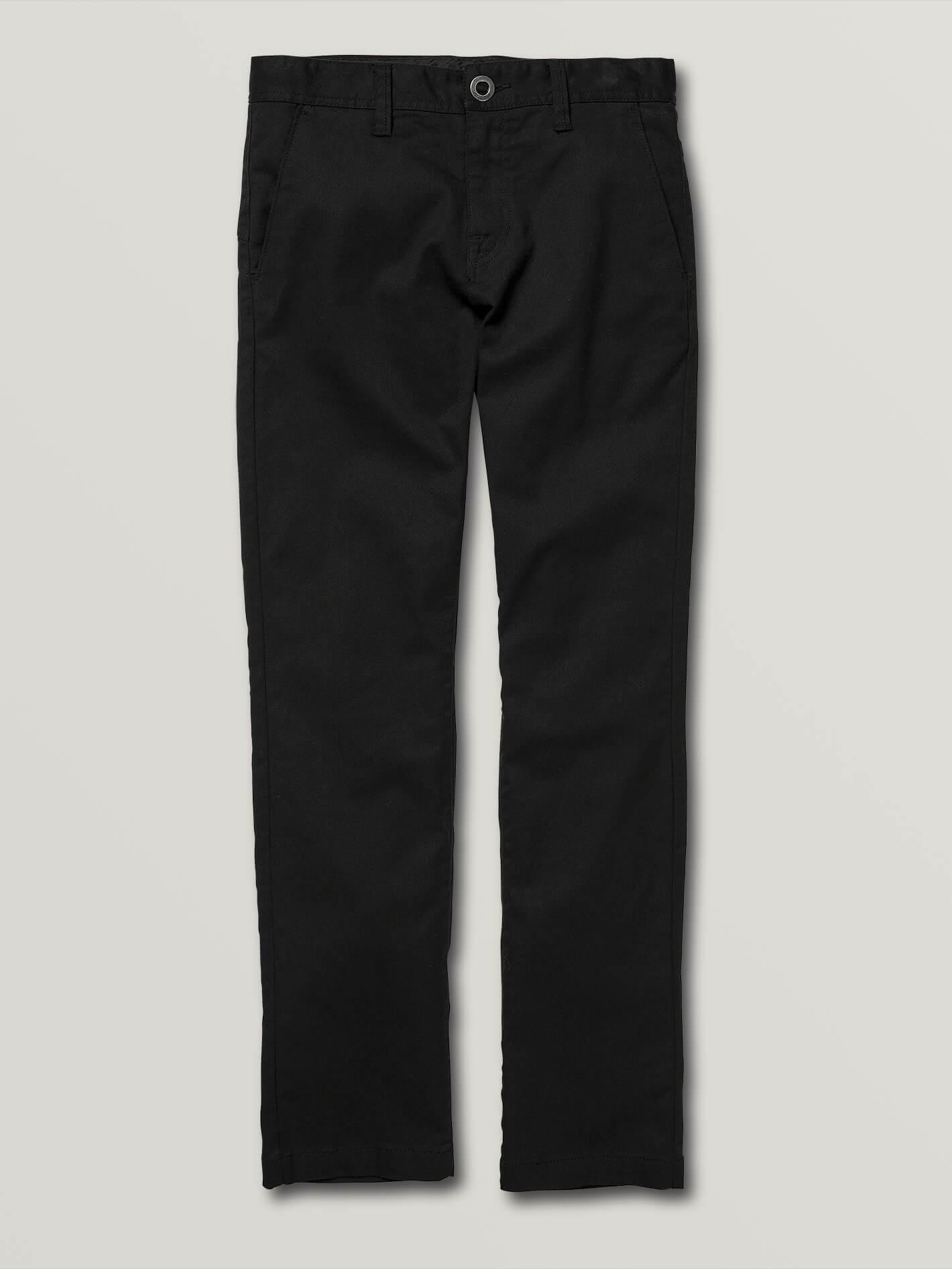 Big Boys Frickin Modern Stretch Chino Pants - Black - BLACK / 27