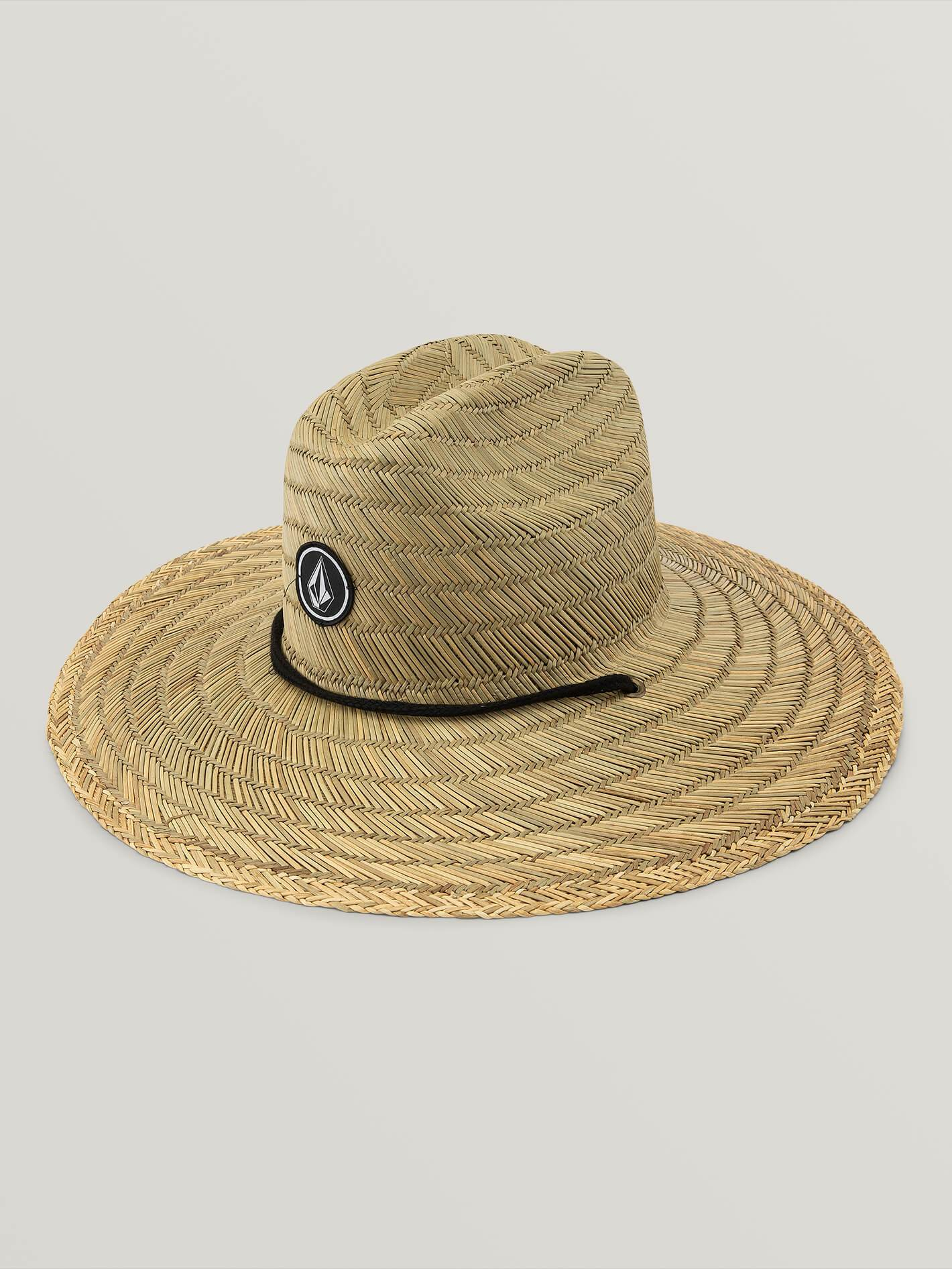 Quarter Straw Hat - NATURAL / S/M