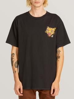 Ozzie Tiger Short Sleeve Tee - BURGUNDY / M